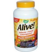 NATURE'S WAY Alive Мультивитамины - без добавления железа 60 таблеток