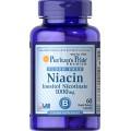 Puritan's Pride Ниацин без покраснения Инозитола никотинат 1000 мг 60 капсул