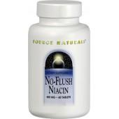 SOURCE NATURALS Ниацин Без покраснения (500 мг) 60 таблеток