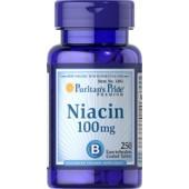 Puritan's Pride Ниацин 100 мг 100 таблеток