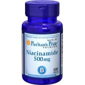 Puritan's Pride Ниацинамид 500 мг 100 таблеток