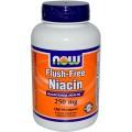 NOW Ниацин Без покраснения (250 мг) 90 капсул
