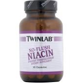TWINLAB Ниацин - нет Покраснений (800 мг) 50 капсул