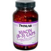 TWINLAB Ниацин B-3 (1000 мг) 100 капсул