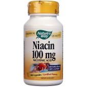 NATURE'S WAY Ниацин (100 мг) 100 капсул