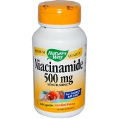 NATURE'S WAY Ниацинамид (500 мг) Без покраснений 100 капсул