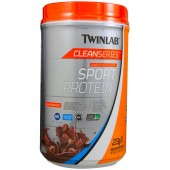 TWINLAB Clean Series™ Спортивный протеин (вкус какао) 795г