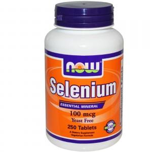 Now Foods Селен 100 мкг 100 таблеток