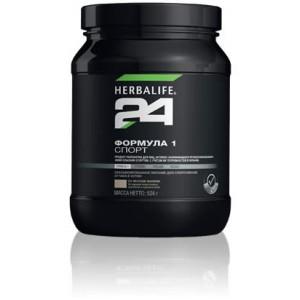 Herbalife 24 ФОРМУЛА 1 Спорт Протеиновый коктейль (вкус ваниль) 524г