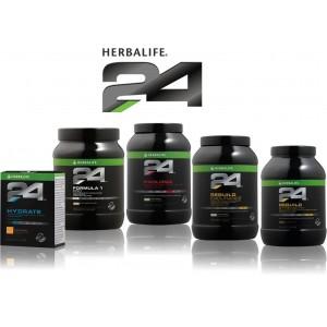 Herbalife 24 ПОВЫШЕНИЕ ВЫНОСЛИВОСТИ Протеиновый коктейль (вкус цитрусовый) 900г