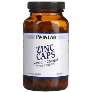 TWINLAB Цинк 50 мг 90 капсул